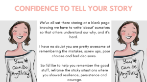 Confidence to Tell Your Story