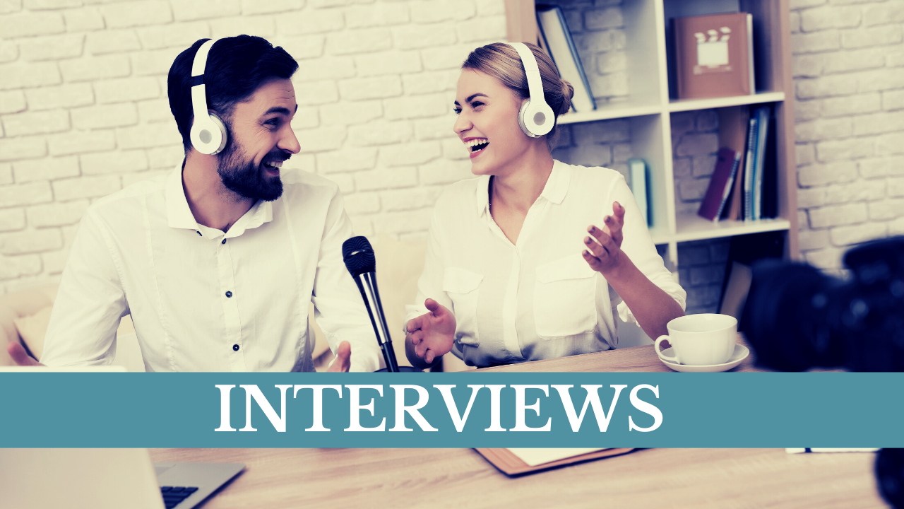 Interviews for Personal Brand