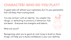 Character - Personal Branding Who do you play. Born with identity and a masked super hero.