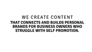 We Create Content